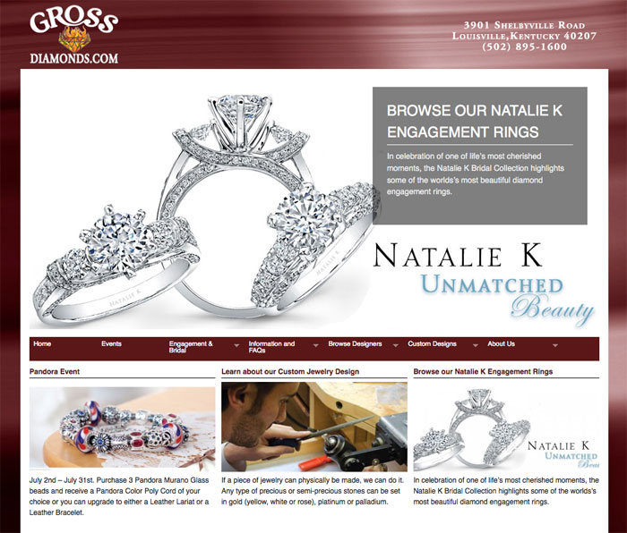 Gross Diamond Company - Click to view larger.
